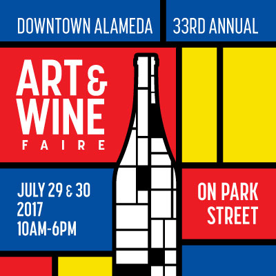 Downtown Alameda Art & Wine Faire