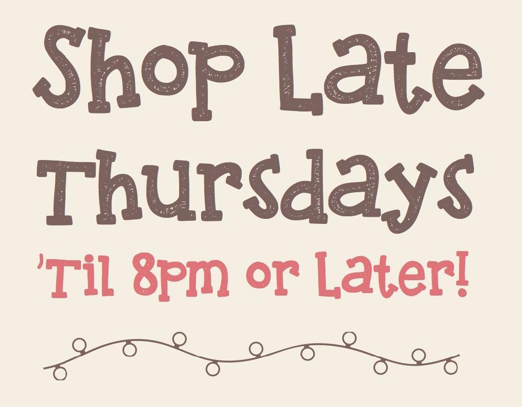 Shop Late Thursdays Alameda