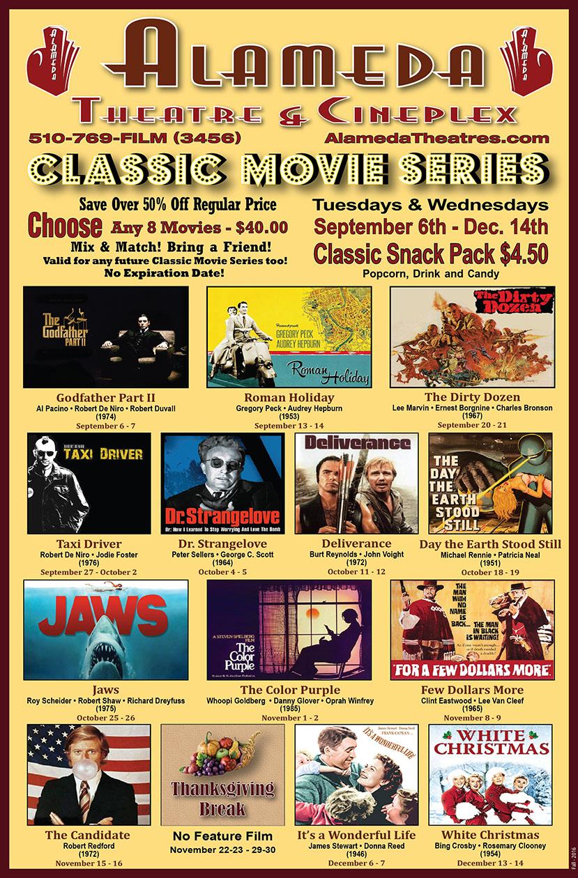 Spring Classic Movie Series