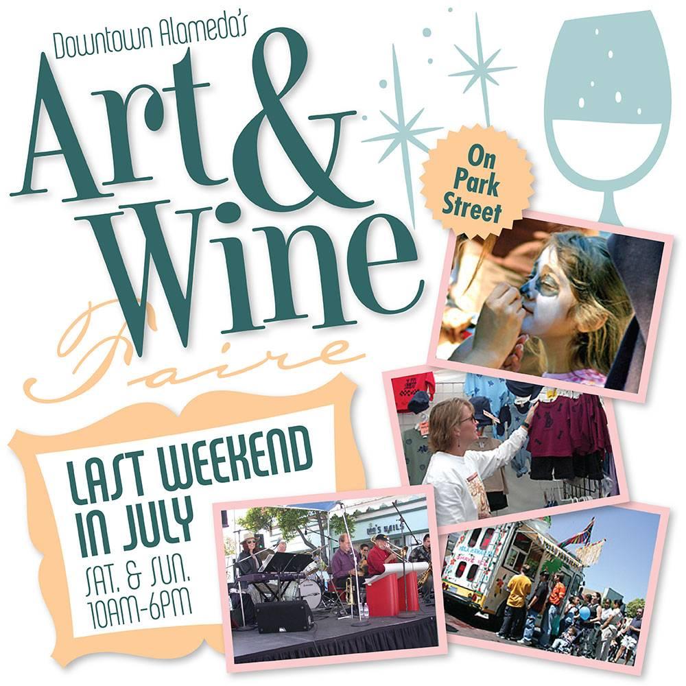 Downtown Alameda Art & Wine Faire